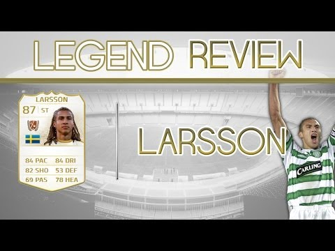 FIFA14 ULTIMATE TEAM: Legend Review Henrik Larsson
