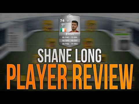 FIFA 14 Ultimate Team | 74 Rated Shane Long Player Review