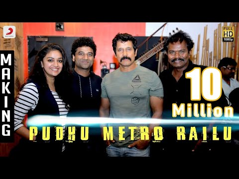 Saamy² - Pudhu Metro Rail Making Video