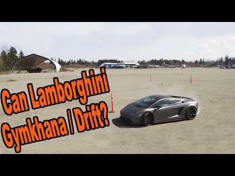Alex essaie sa nouvelle Lamborghini