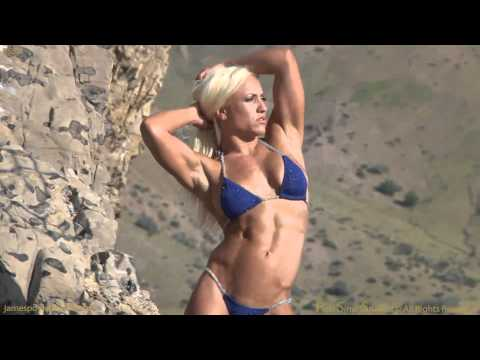 Fitness model Mary Schmitt shoots for American Curves