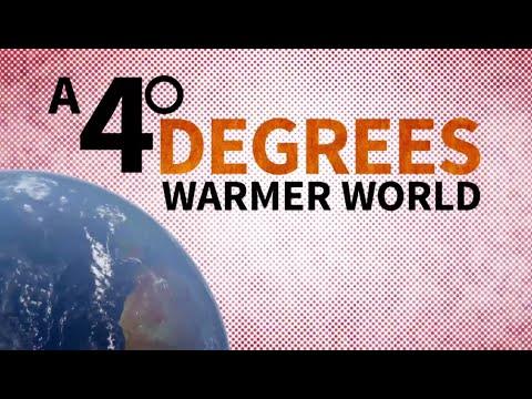 Vídeo As consequências de um planeta 4 graus mais quente