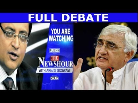 The Newshour  Debate: Salman Khurshid does it again - (13th March 2014)