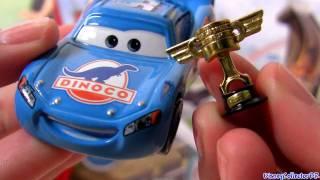 Dinoco Lightning Mcqueen Diecast Piston Cup Trophy Mattel