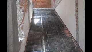 Colocacion vigueta pretensada y bovedilla ansa for Construccion de escaleras de concreto armado