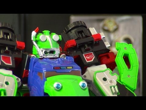 Go Busters FS-ZERO O Frog Part 2 (GoBuster Kero-O)