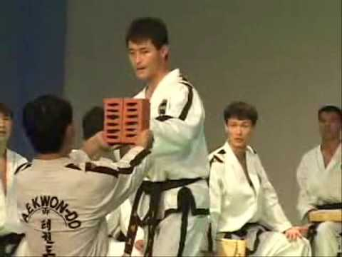 ITF Taekwon-Do Breaking