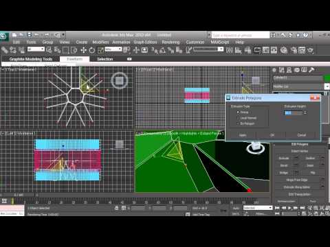 3D Modeling - Computer Fan Tutorial - Beginners - 3ds max - pt 8 of 16