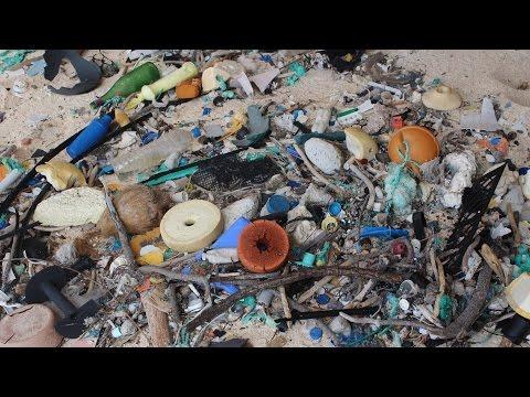 فيديو..العلماء يكشفون عن عاصمة القمامة العالمية