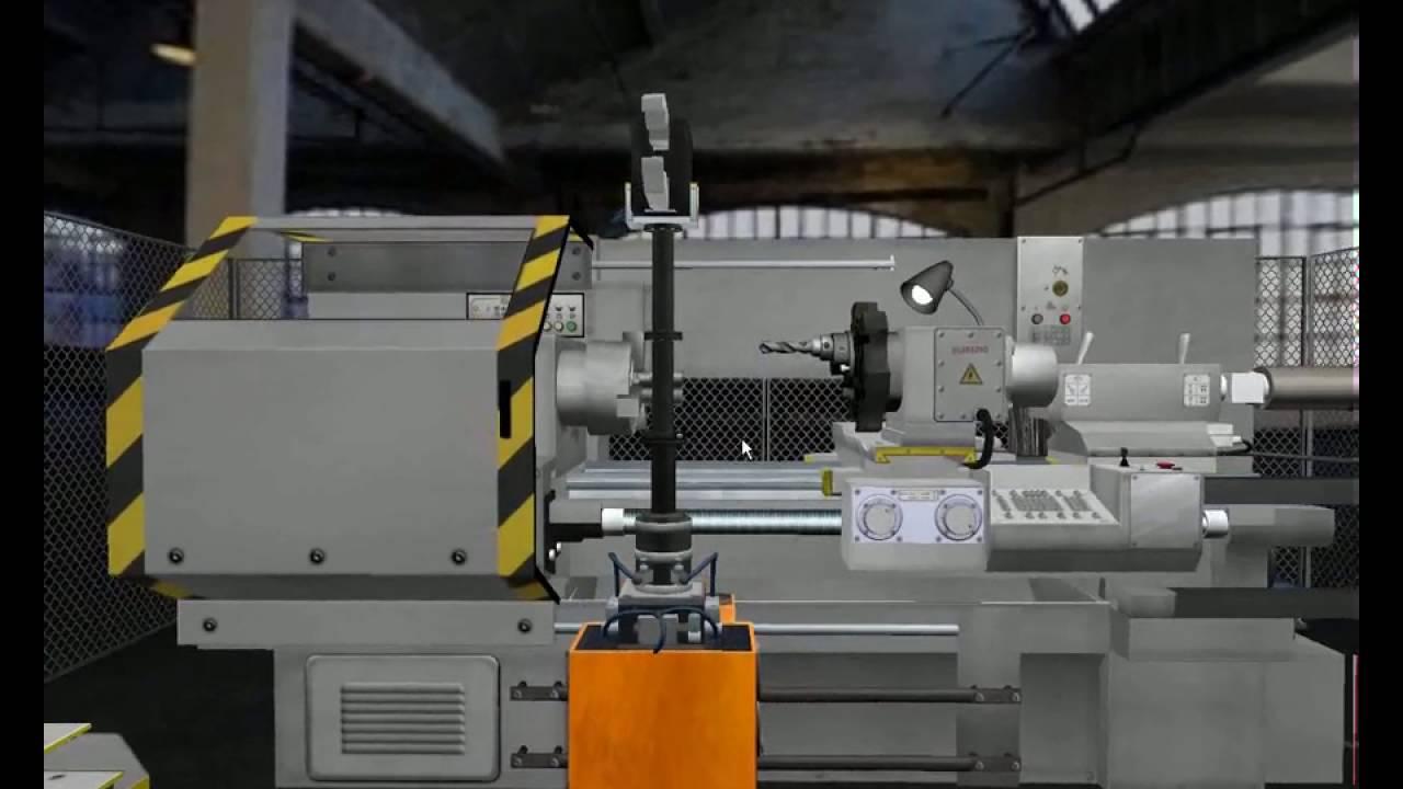 симулятор токарного станка с чпу fanuc