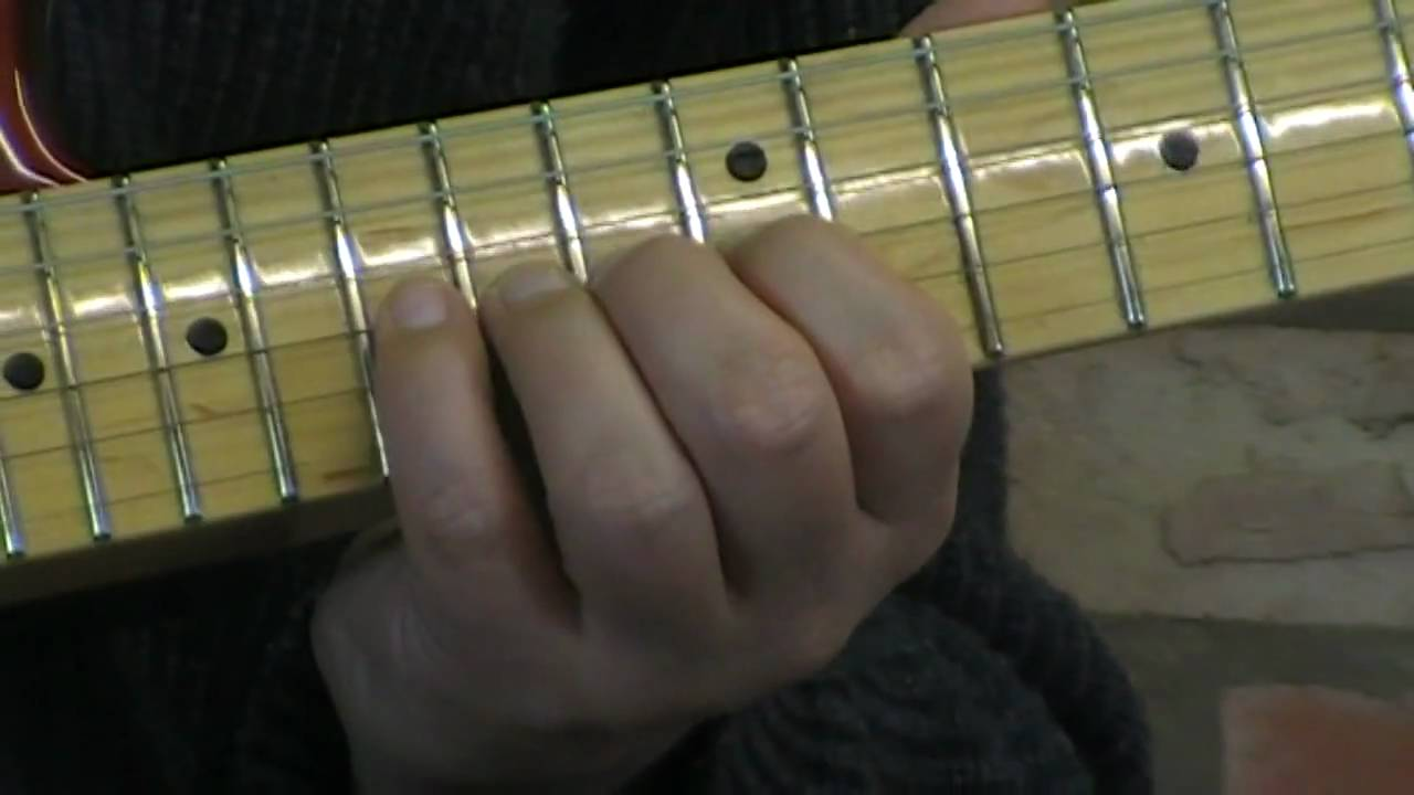 Shine on You Crazy Diamond Solo Guitar Lesson - YouTube