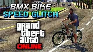 GTA 5 Glitches Super Speed BMX Bike Stunts Trick Easy