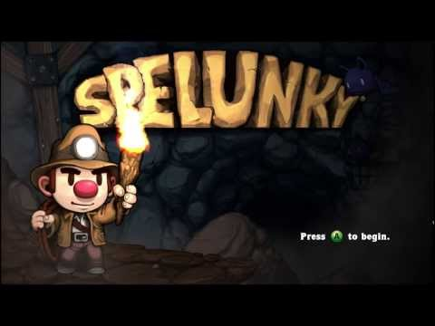 Spelunky Episode 1: Grab It By The Cheese