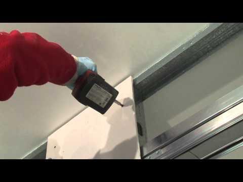 Montaż płyt gipsowo-kartonowych w Syntesis® Line i Syntesis® Line rozwiernych