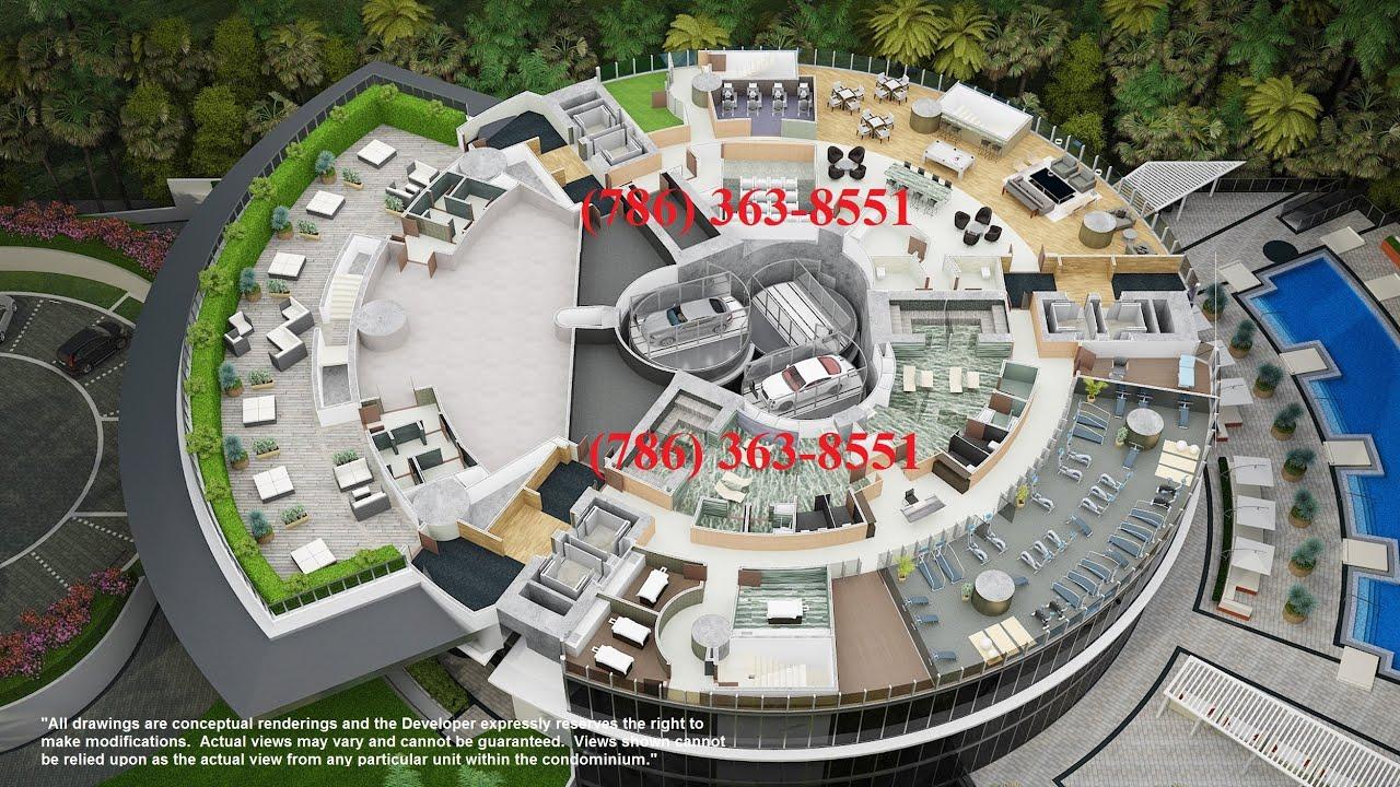 Porsche Design Tower Miami 3D Movie