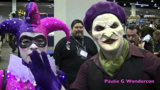 [Wondercon Batman Villians Stalk Batman at WONDERCON!!] Video