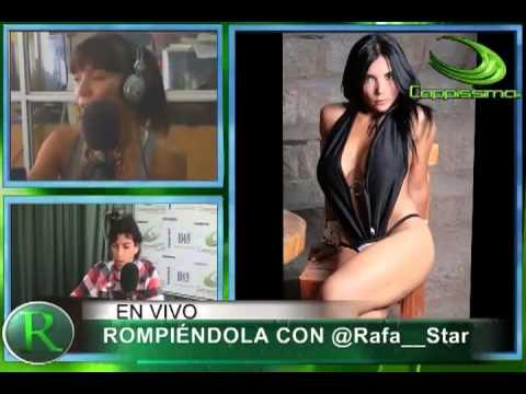 Rafa Star entrevista a Noelia Arias (licenciada Tetarelli) en Rompiéndola.