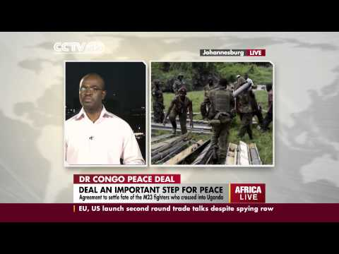 Congo expert, Godfrey Talabulu, speaks on the DRC peace deal
