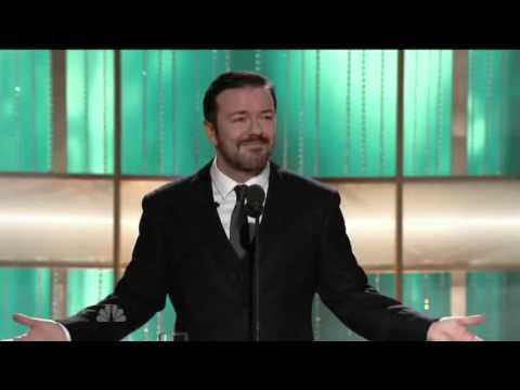 """Рики Джървейс - британски хумор връхлетя Холивуд на наградите """"Златен глобус"""" през 2011г."""
