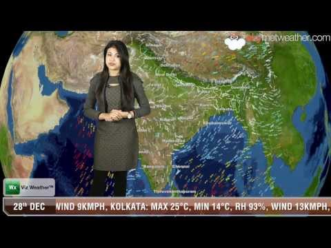 28/12/13 - Skymet Weather Report for India
