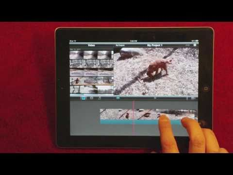 iMovie App for iPad 2 - Quick Video Tutorial