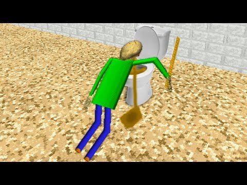 Funny moments in Baldi's Basics Animation || Experiments with Baldi Episode 04