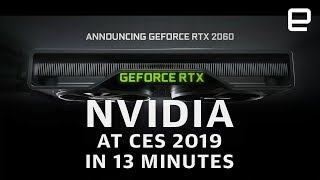 NVIDIA at CES 2019 in 13 Minutes: More power for less