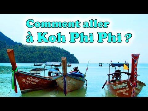 aller à koh phi phi depuis phuket