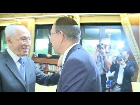 Ban Ki-moon: 'israelenses e palestinos devem superar ceticismo'