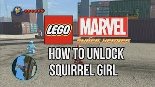 How To Unlock Squirrel Girl LEGO Marvel Super Heroes