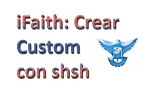 IFaith Crear E Instalar Custom Firmware Con Shsh