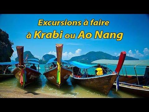 les excursions près de krabi et ao nang