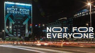 #NOTFOREVERYONE | BILLBOARD TIMELAPSE