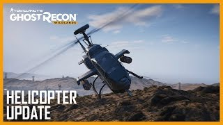 Ghost Recon Wildlands - Helikopter Frissítés