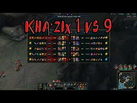 Kha'zix jungle Guide new rune season 8 - best kha'zix plays - League of Legends