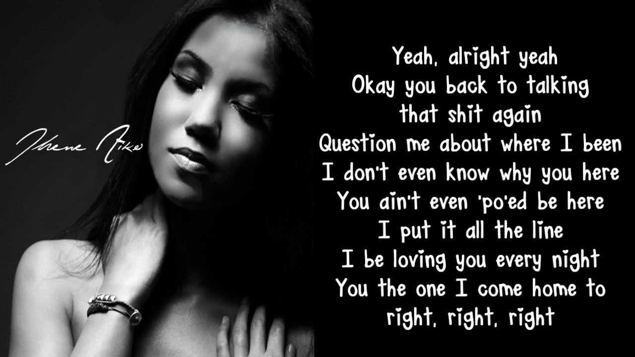 Jhene Aiko Lyrics The Worst Jhene Aiko - 2 Seconds...