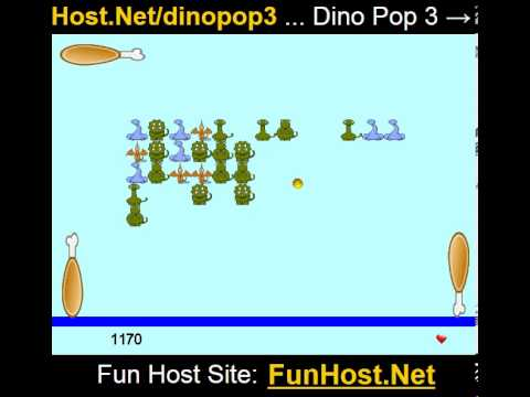 Play Dino Pop 3 Online