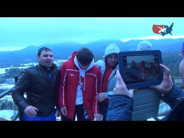 USA Freestyle Team visits Winter Olympics sites in historic Lake Placid