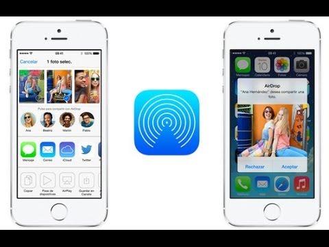 Cách sử dụng Bluetooth trên iphone, ipad bằng Air Drop