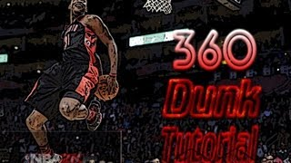 NBA 2K14 360 Dunk Tutorial