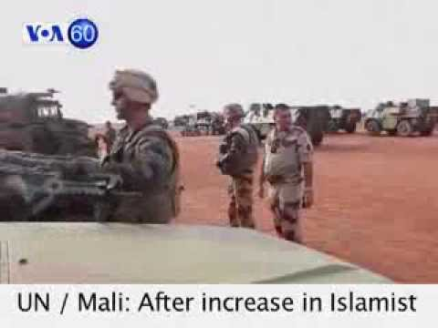 VOA60 Africa 10-17-2013 UN appeals for extra troops to maintain stability in Mali.