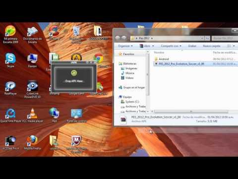 Tutorial - Como instalar juegos para android desde tu ordenador