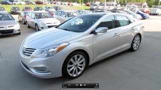 2012 Hyundai Azera (Technology Group) Start Up, Exhaust, and In Depth Review videos