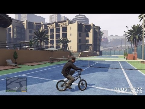 GTA V (5) | 10 Minutes of BMX Gameplay