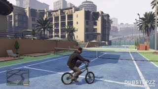 GTA V (5) 10 Minutes Of BMX Gameplay