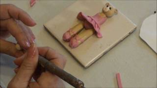 Polymer Clay Tutorial How To Make A Ballerina Bear