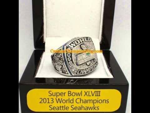 Super Bowl Ring - 2013 Seattle Seahawks Championship Ring