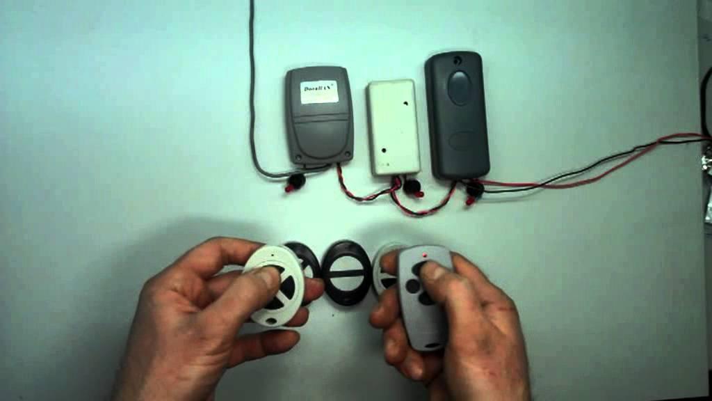 Как сделать дубликат пульта от автоматических ворот