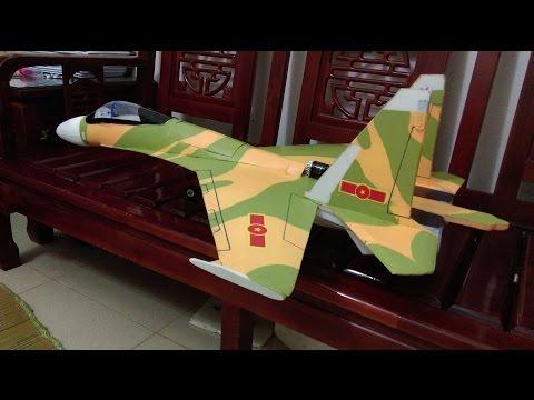 Su-30MK2 hướng dẫn làm máy bay mô hình điện