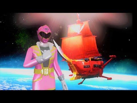 Sieu Nhan Game Play   Biệt đội siêu nhân hải tặc đánh bại quái vật #1